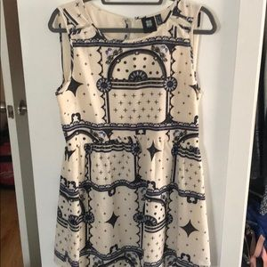 Insight patterned dress